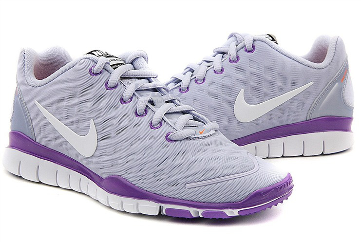 2012 Nike Free LiNa Traing Shoes Grey Purple White