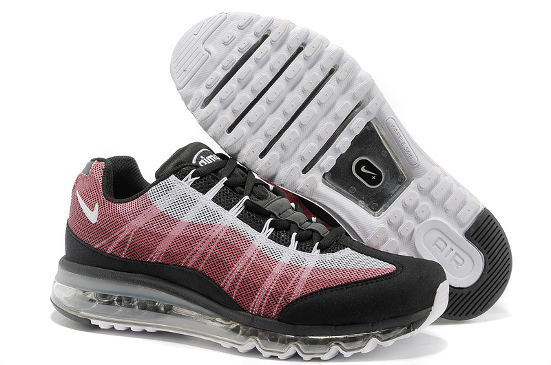 2013 Nike Air Max 95 Black Red Grey Shoes