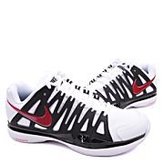 2013 Nike Zoom V9 RF ShangHai White Black Red Tennis Shoes