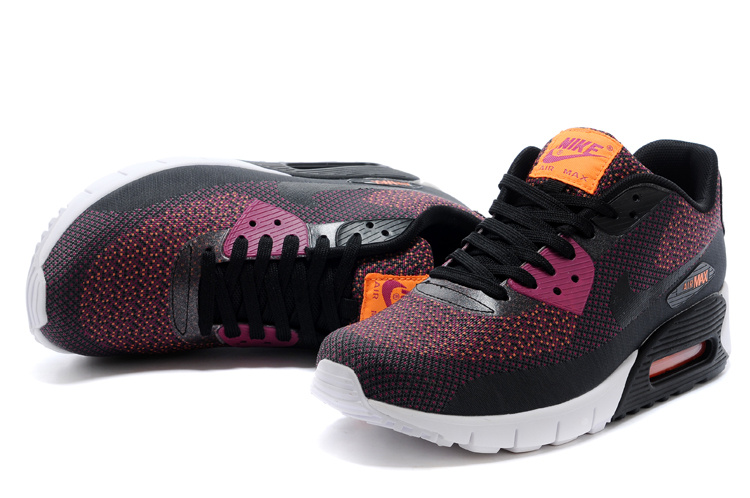 sneakers for cheap 8626e 4b681 2014 Nike Air Max 90 Black Purple White Shoes