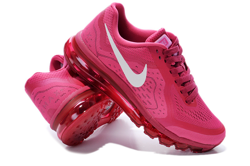 Nike Air Max 2014 Shoes Wine Red For Women