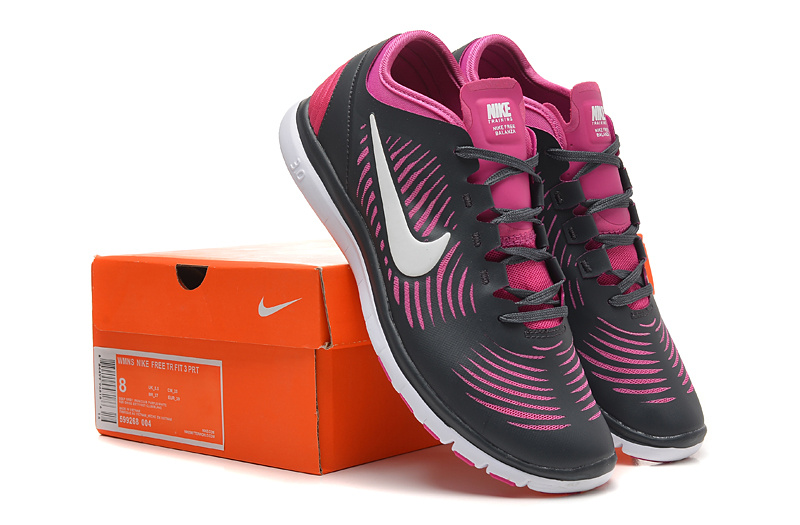 2014 WMNS Nike Free Balanza Black Red Shoes For Women