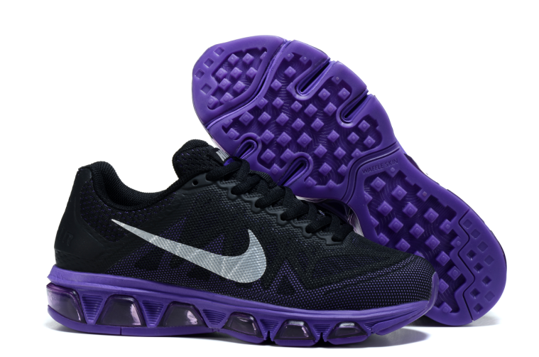 Nike Air Max 2015 20K6 Women Black Purple Shoes