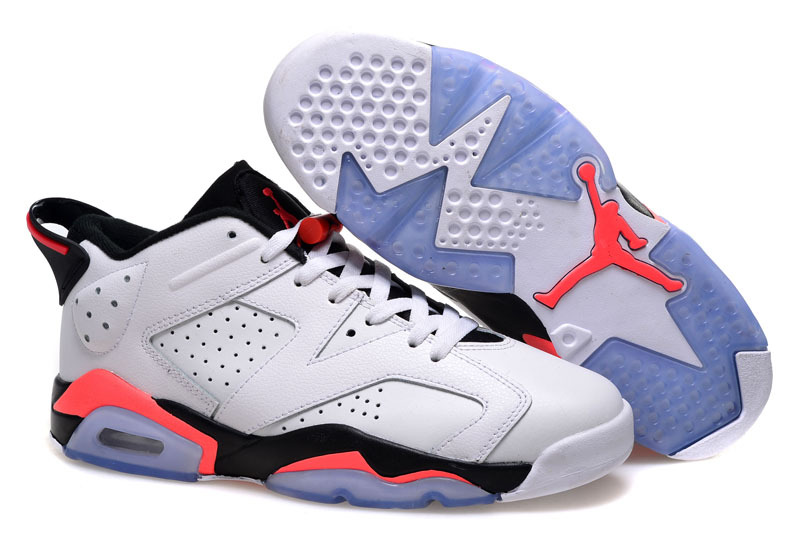2015 Air Jordan 6 Low White Infrared 23 For Sale
