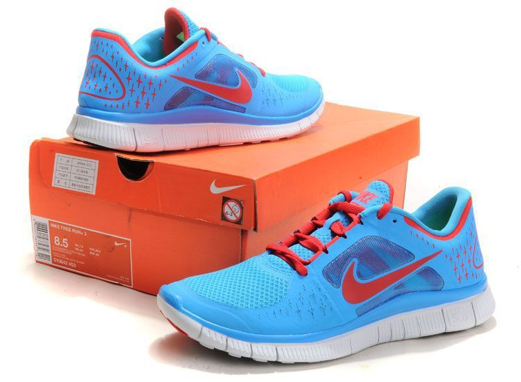 newest collection 6ae88 2298b ... canada nike free 5.0 2 running shoes baby blue red 703e2 c10d0 ...