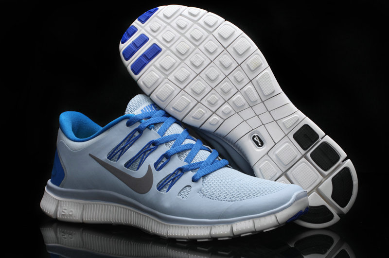 72abc979e533 Nike Free 5.0 +2 Running Shoes Baby Blue
