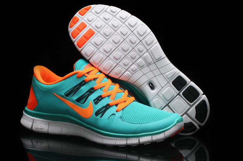 buy \u003e light blue and orange nike shoes