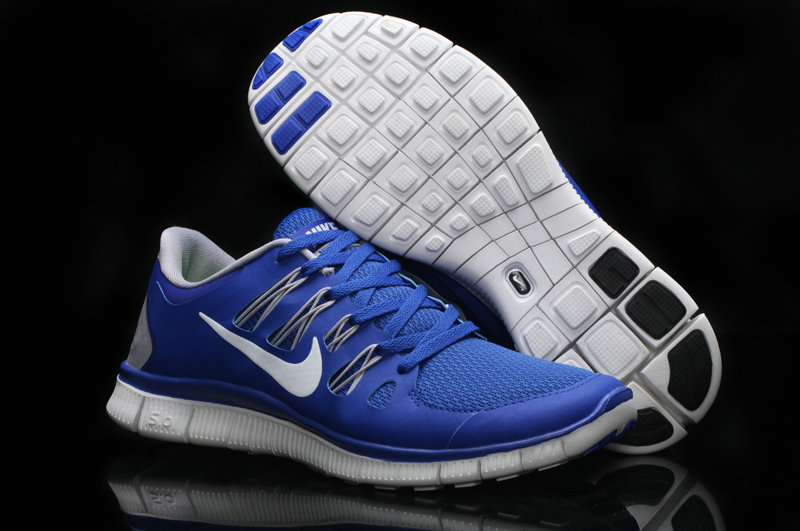 e0a22506ef86 Nike Free 5.0 +2 Running Shoes Blue White