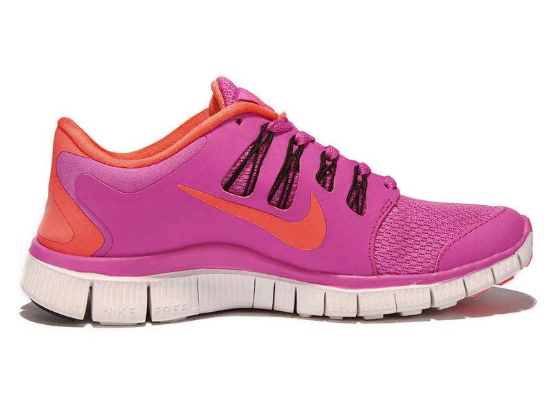 size 40 dfd82 f97d0 canada nike free run 5 womens orange pink 9ef12 19d98