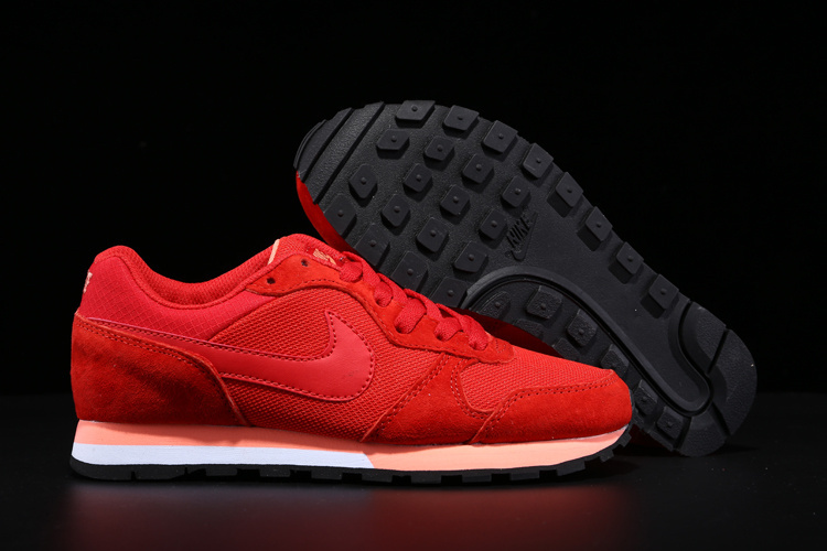2015 Nike MD Runner All Red Women Shoes