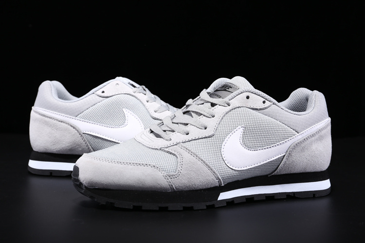 2015 Nike MD Runner Grey White Shoes