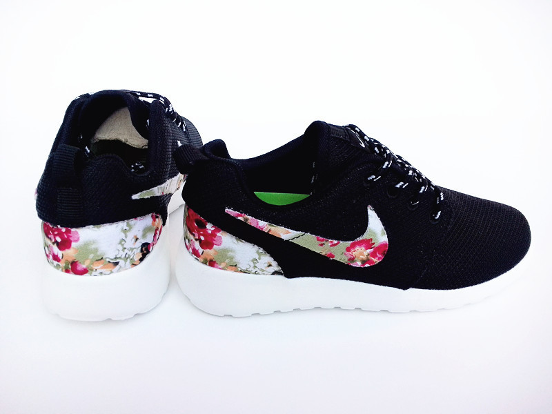 2015 Nike Roshe Run Black Colorful Shoes