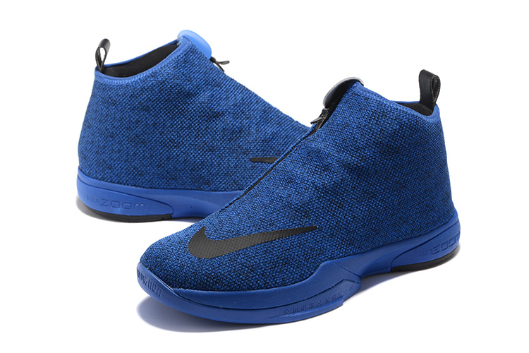 2016 Men Nike Kobe Icon Blue Black Shoes