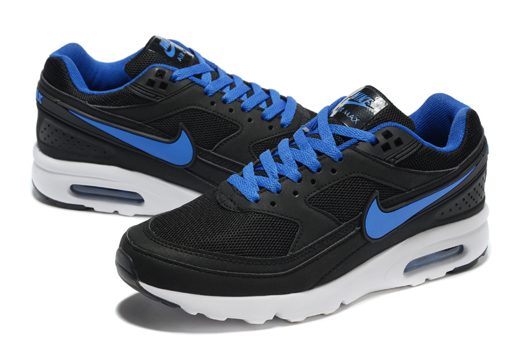 2016 Nike Air Max 85 Black Blue White Shoes