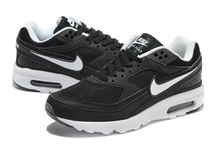 2016 Nike Air Max 85 Black White Shoes