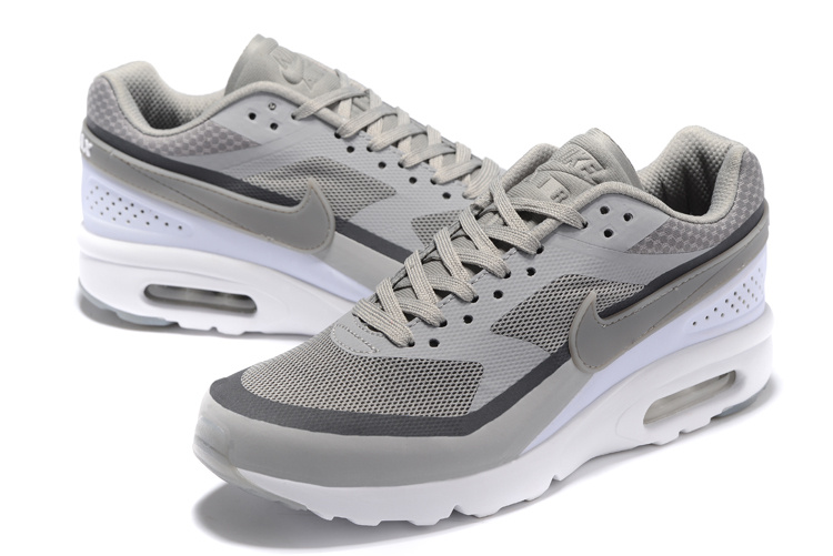 2016 Nike Air Max 85 Grey White Shoes