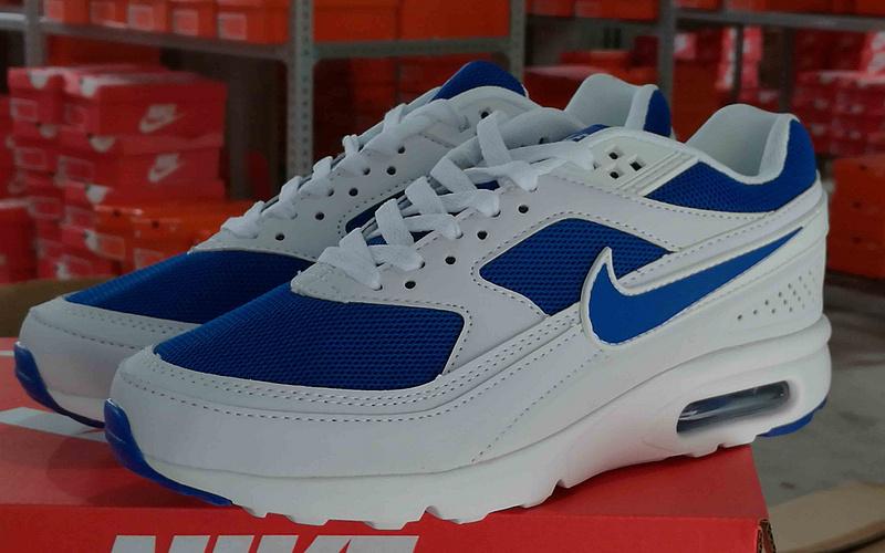 2016 Nike Air Max 85 White Blue Shoes