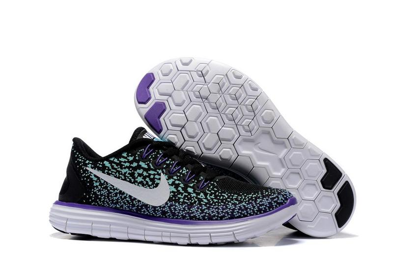 2016 Nike Free DN Distance Black Blue White Women Shoes