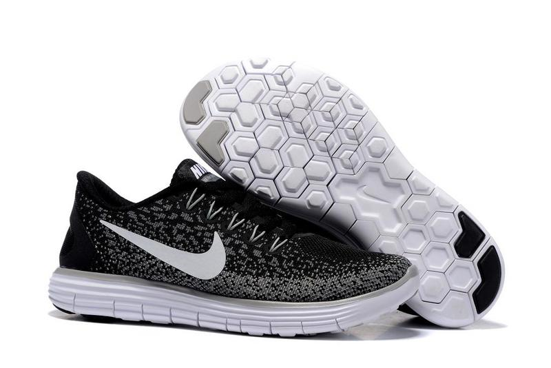 2016 Nike Free DN Distance Black White Women Shoes