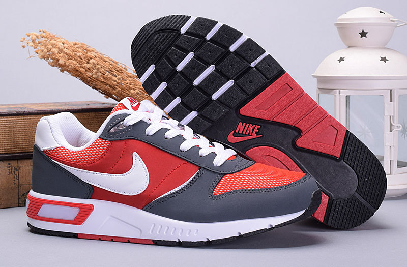2016 Nike NightGazer Black Red White Shoes