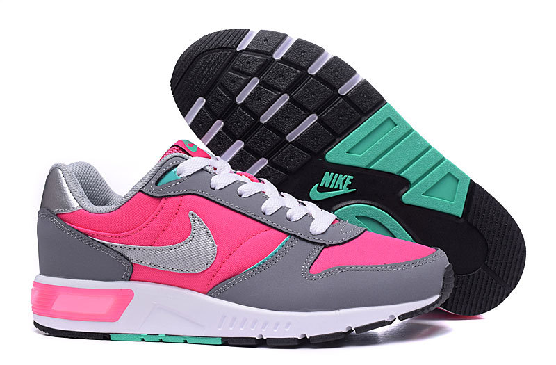 2016 Nike NightGazer Grey Pink Shoes