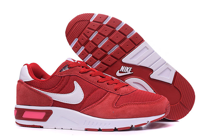 2016 Nike NightGazer Red White Shoes