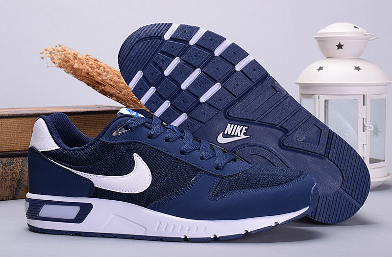 2016 Nike NightGazer Royal Blue White Shoes
