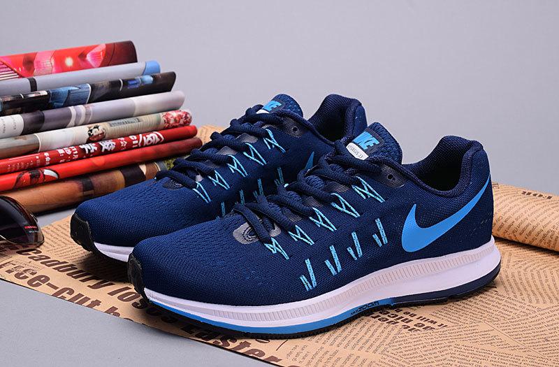 ... on sale c35e4 fed62 Nike.com 2016 Nike Zoom Pegasus 33 Royal Blue Shoes  Mens ... db269d7d69