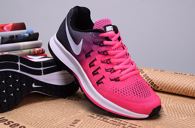 8e087b22020 2016 Nike Zoom Pegasus 33 Women Pink Deep Blue Shoes  Sport400 ...