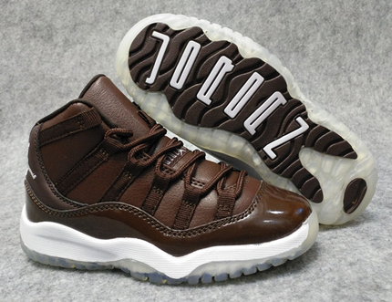 2017 Air Jordan 11 Chocolate Shoes For Kids