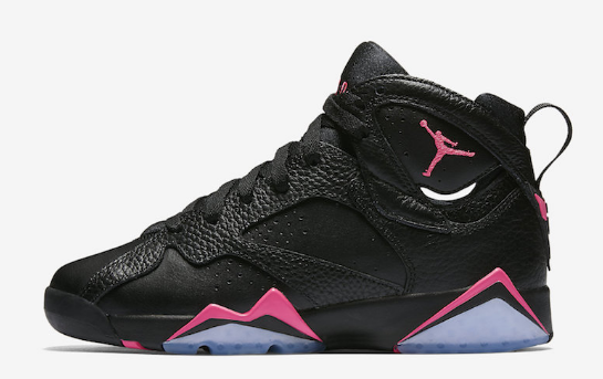 2017 Air Jordan 7 GS Hyper Pink Shoes