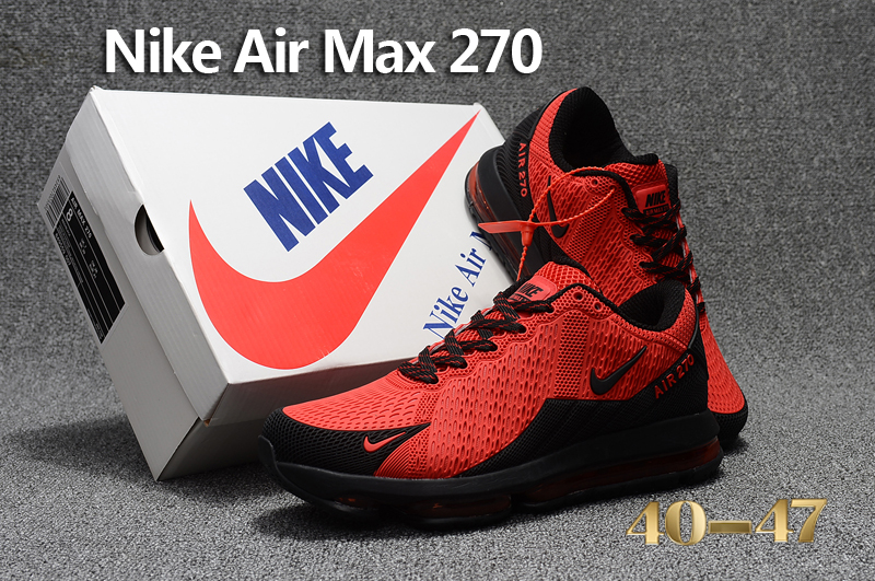 2017 Men Nike Air Max Flair Hot Red Black Running Shoes