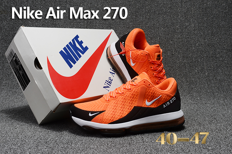 2017 Men Nike Air Max Flair Orange Black Running Shoes