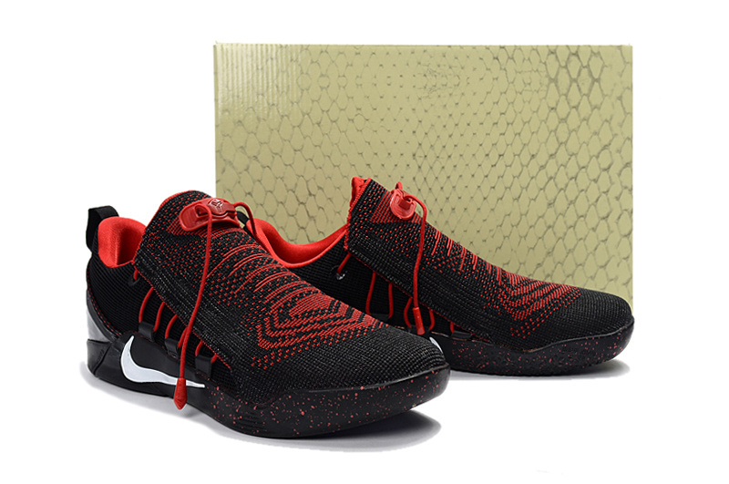 2017 Men Nike Kobe Bryant A.D. NXT Black Red Shoes