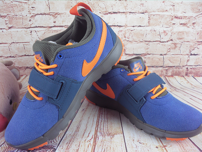 2017 Men Nike Trainereddorl Blue Orange Shoes