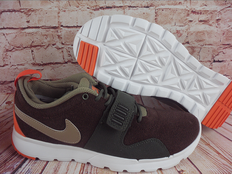2017 Men Nike Trainereddorl Brown Army Orange Shoes