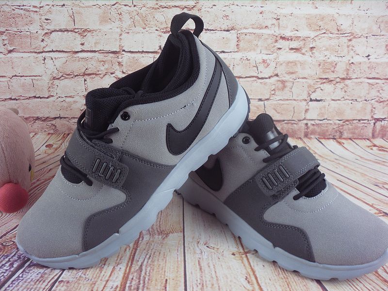 2017 Men Nike Trainereddorl Grey Black Shoes