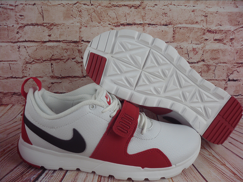 2017 Men Nike Trainereddorl White Red Black Shoes