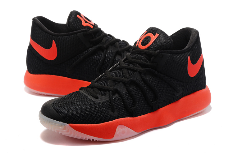 2017 Nike KD Trey 6 Black Red Shoes