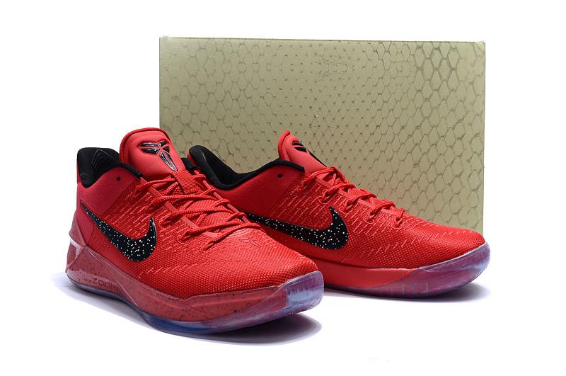 2017 Nike Kobe Bryant 12 Red Black Shoes