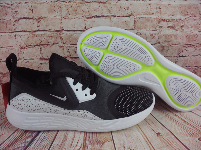 2017 Nike Lunarcharge premium LE Black White Shoes