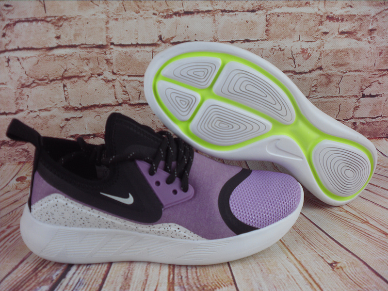 2017 Nike Lunarcharge premium LE Purple Black Shoes For Women