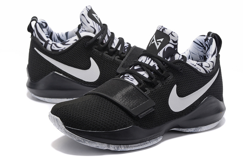 2017 Nike PG I Black Grey Shoes