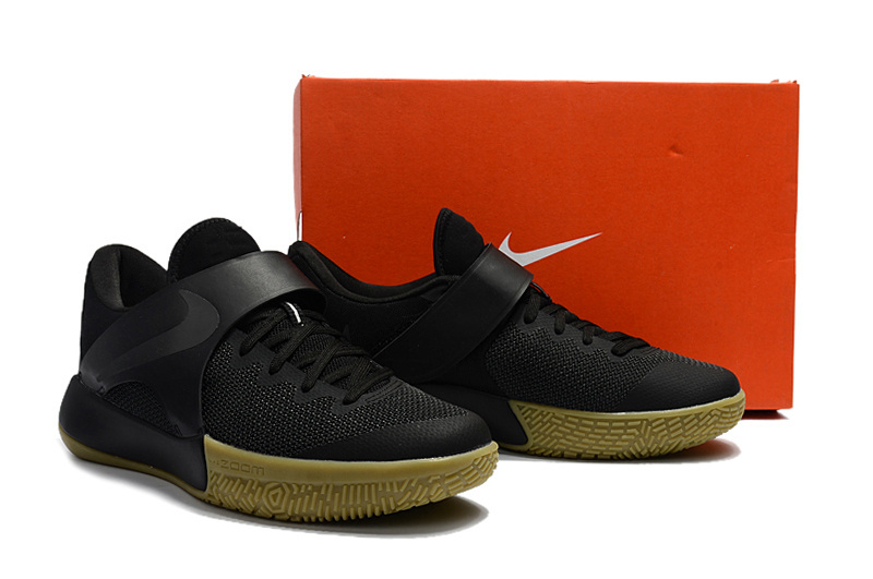 2017 Nike Zoom Basketball Shoes Black Gum