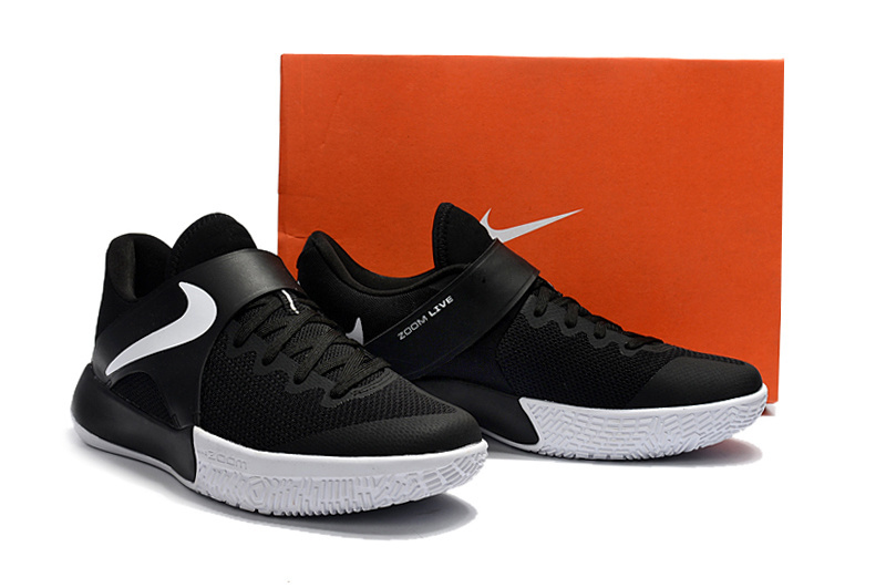 2017 Nike Zoom Basketball Shoes Black White
