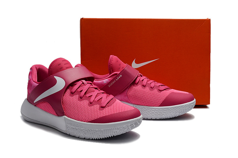 2017 Nike Zoom Basketball Shoes Pink White