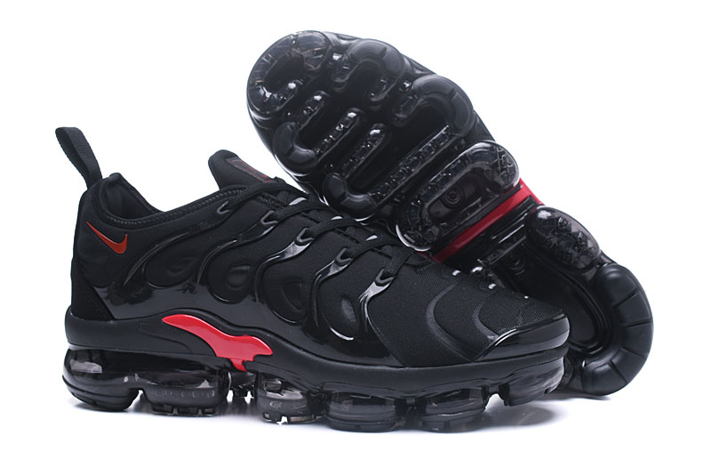 2018 Nike Air Max TN Plus Black Red Shoes
