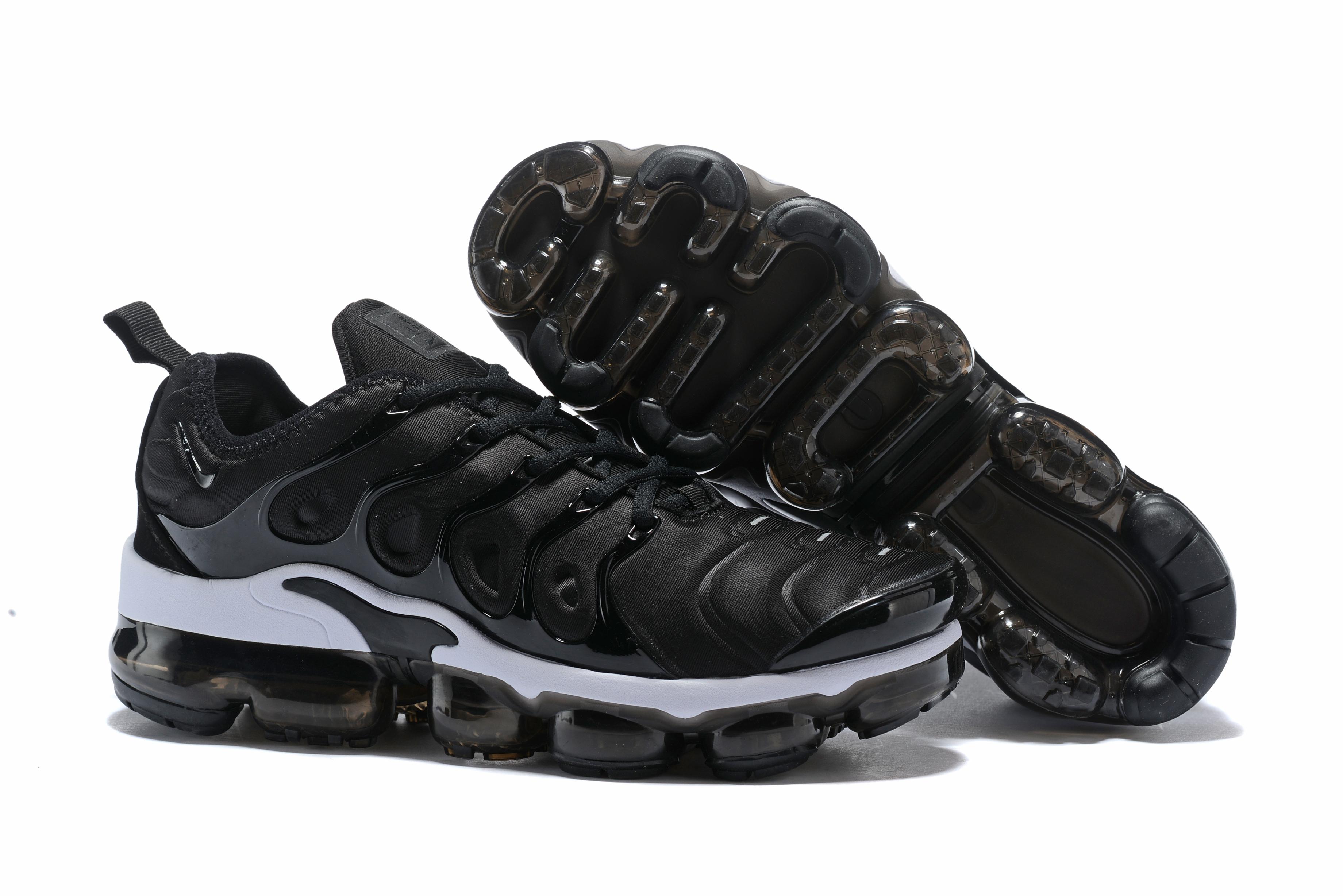 quality design fc11d e2cab Women 2018 Nike Air Max TN Plus Black White Shoes ...