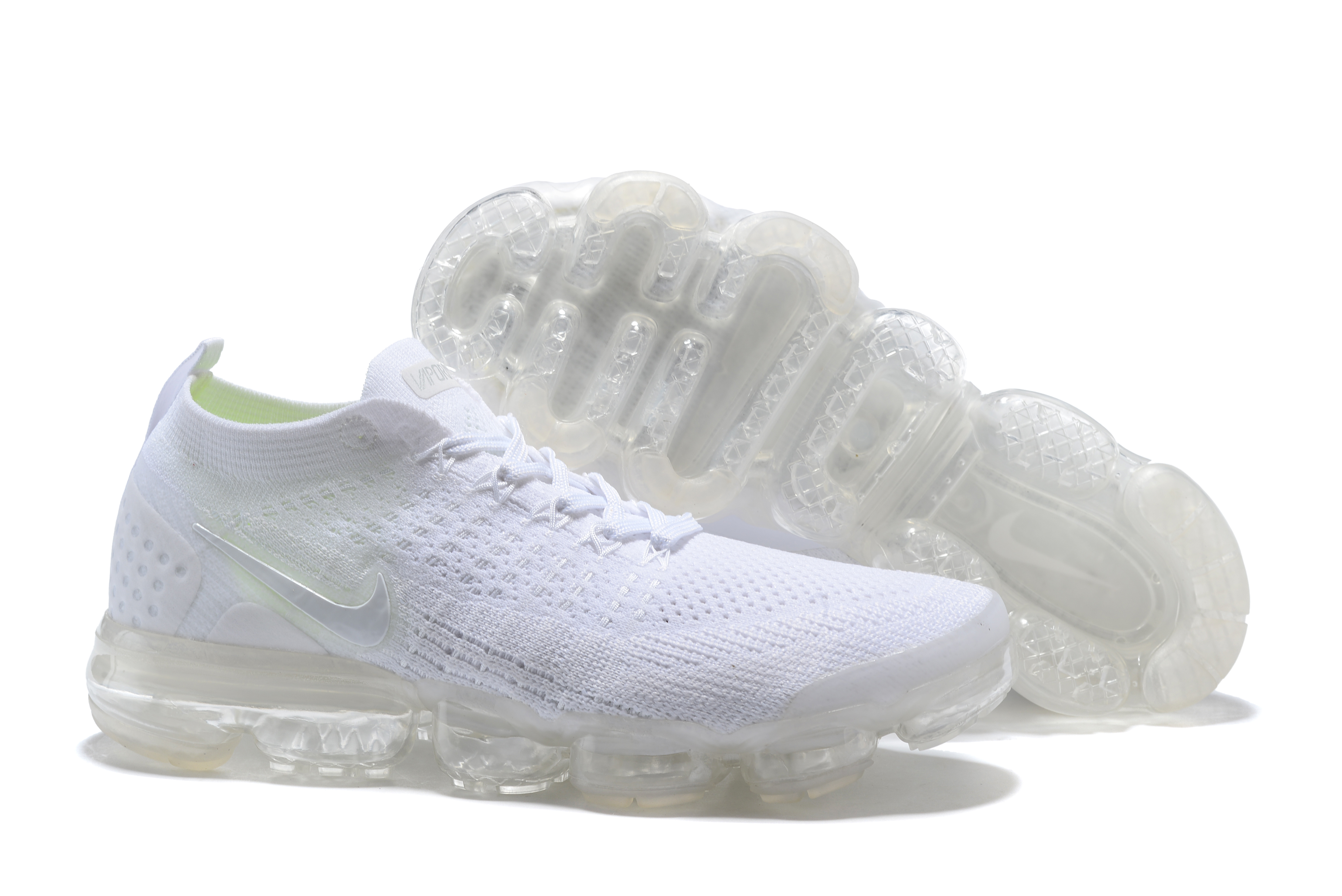 2018 Nike Air VaporMax II All White Shoes