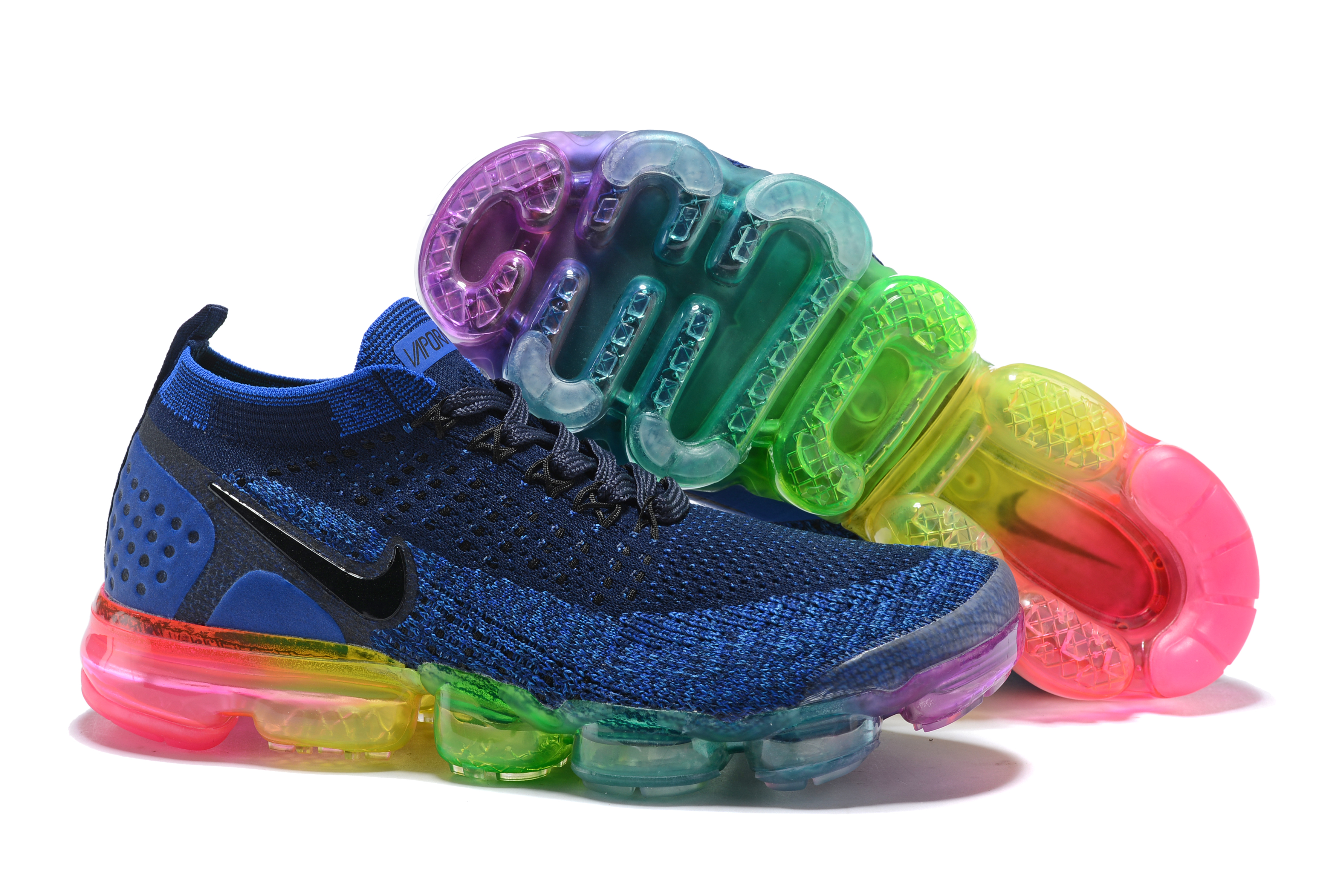2018 Nike Air VaporMax II Blue Colorful Shoes